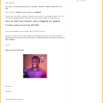 Re: Abass Toriola is a Scammer! (A Rejoinder to One Unfortunate Coward)